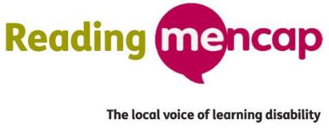 Reading Mencap logo