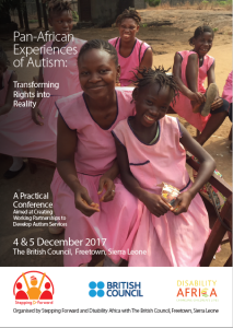 Pan-African Experiences of Autism Conference